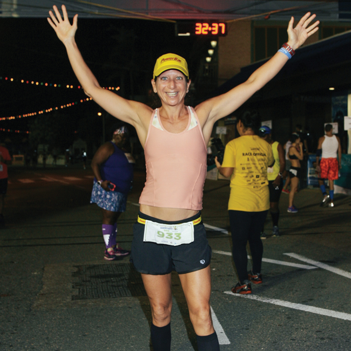 Stefani raced bikes, competed in Ironman triathlons and ultra runs, and even ran the New York City marathon while shooting video and interviewing a racer
