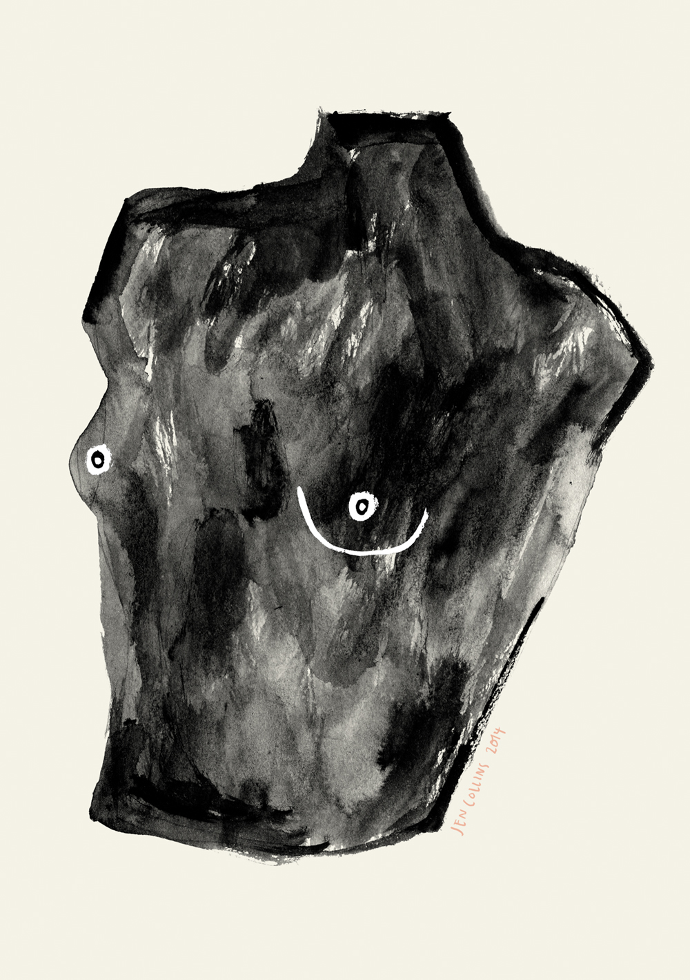 Torso illustration