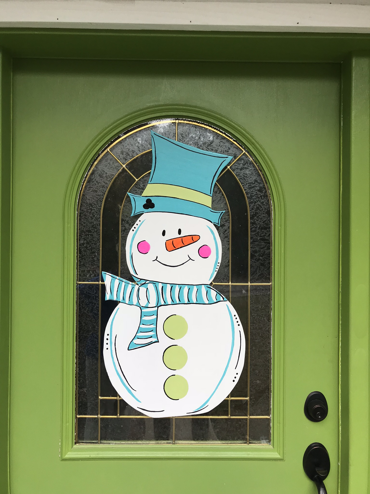 Snow Man DIY Christmas Decorations