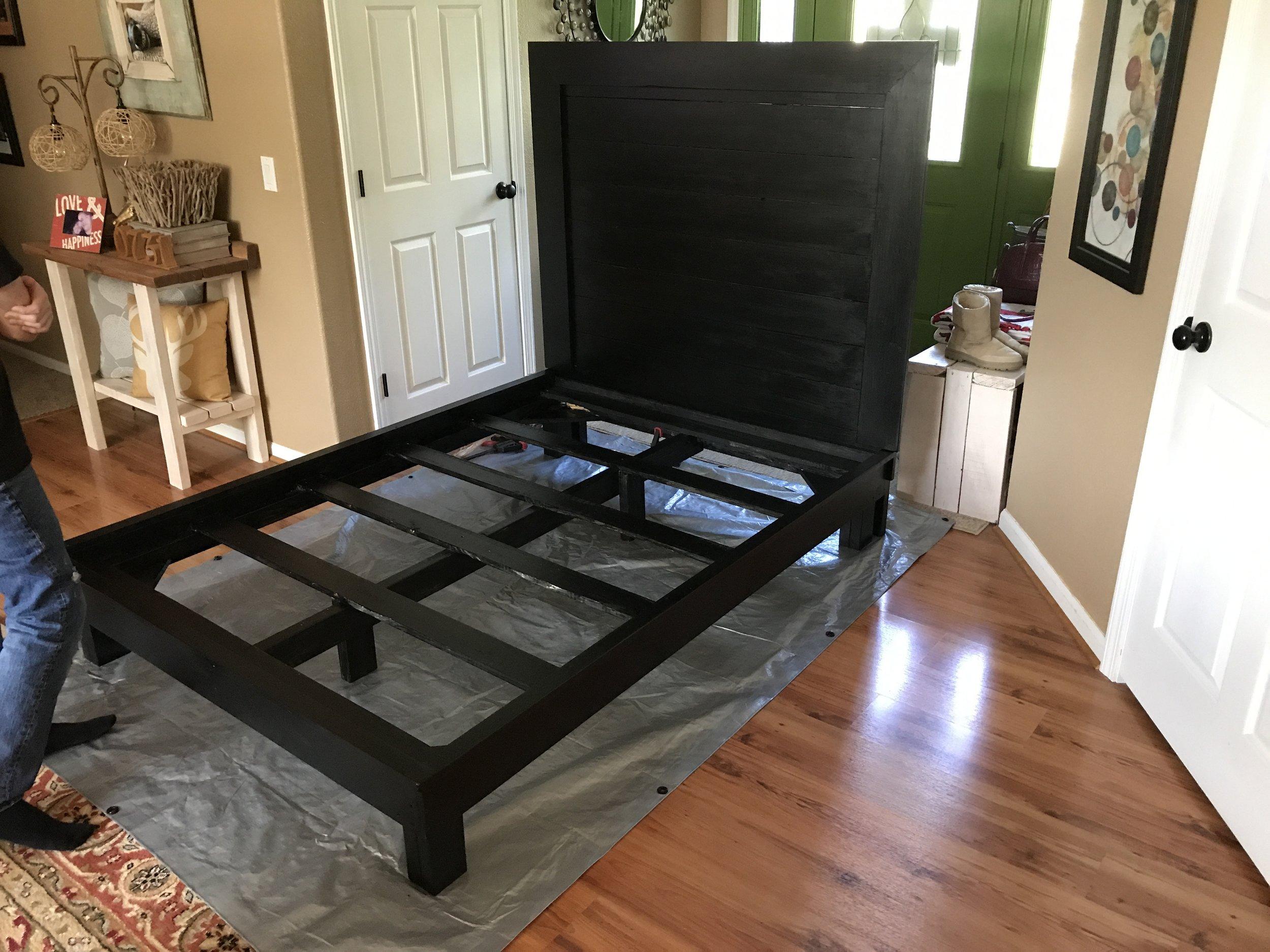 Black Bed Frame