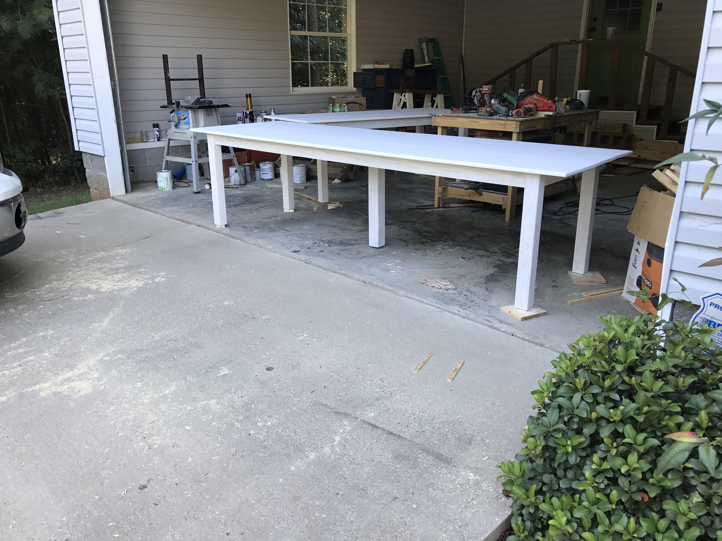 Extra Long Table