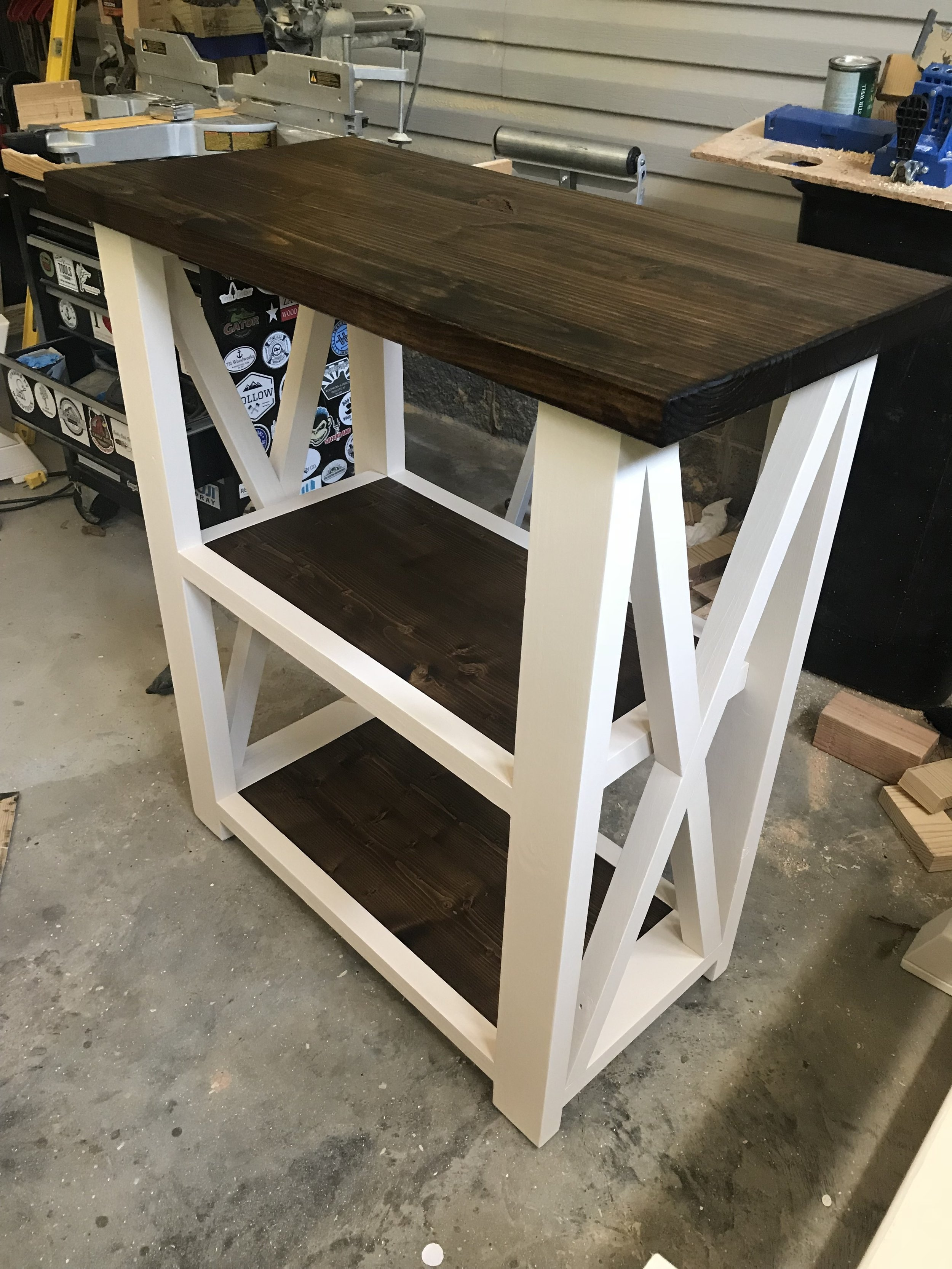 Diy Farmhouse Console Table Video 731 Woodworks We Build Custom Furniture Diy Guides Monticello Ar