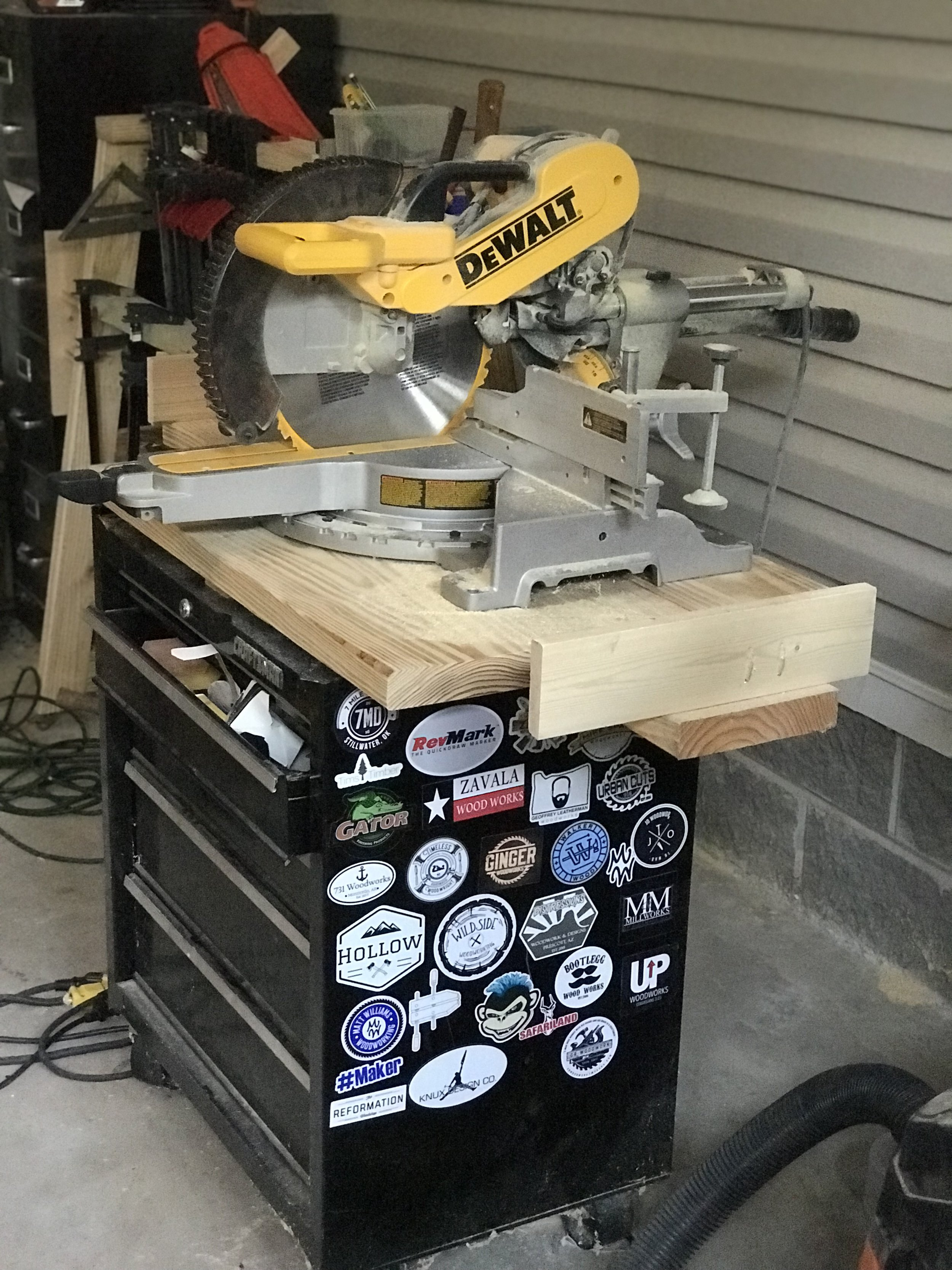 Dewalt Dws779 Miter Saw Review 731 Woodworks We Build Custom Furniture Diy Guides Monticello Ar