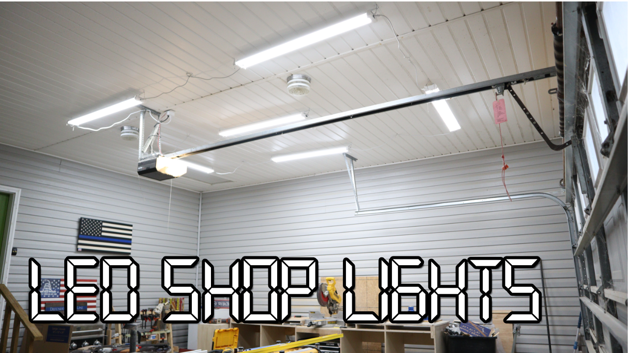 Led Lights For The Garage With Alexa Control 731