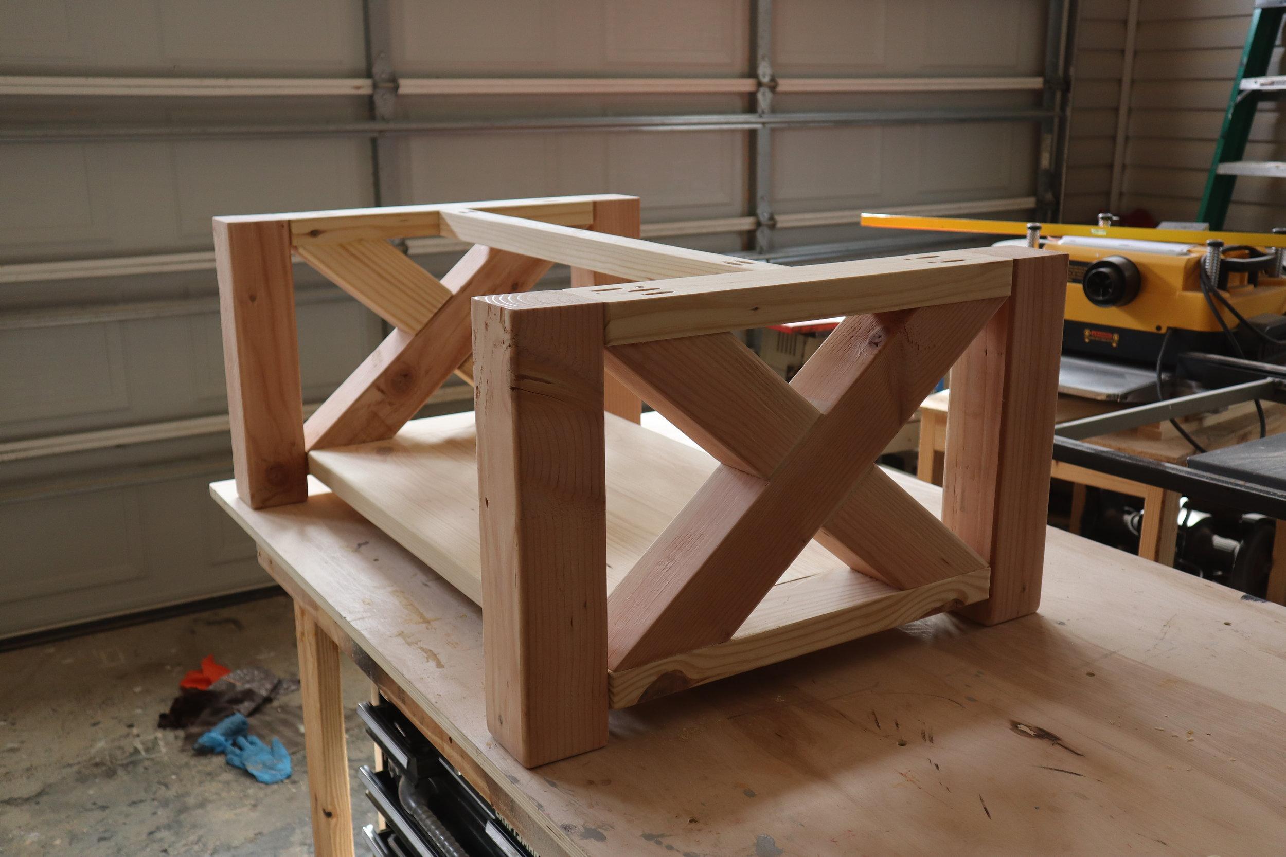 x coffee table frame.JPG