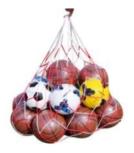 This is a football net.