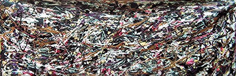 """Confetti   44"""" x 89""""      1990's"""