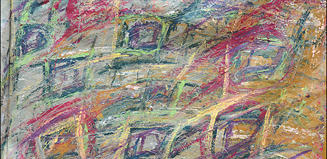 """Untiled  48"""" x 61""""      1990's"""