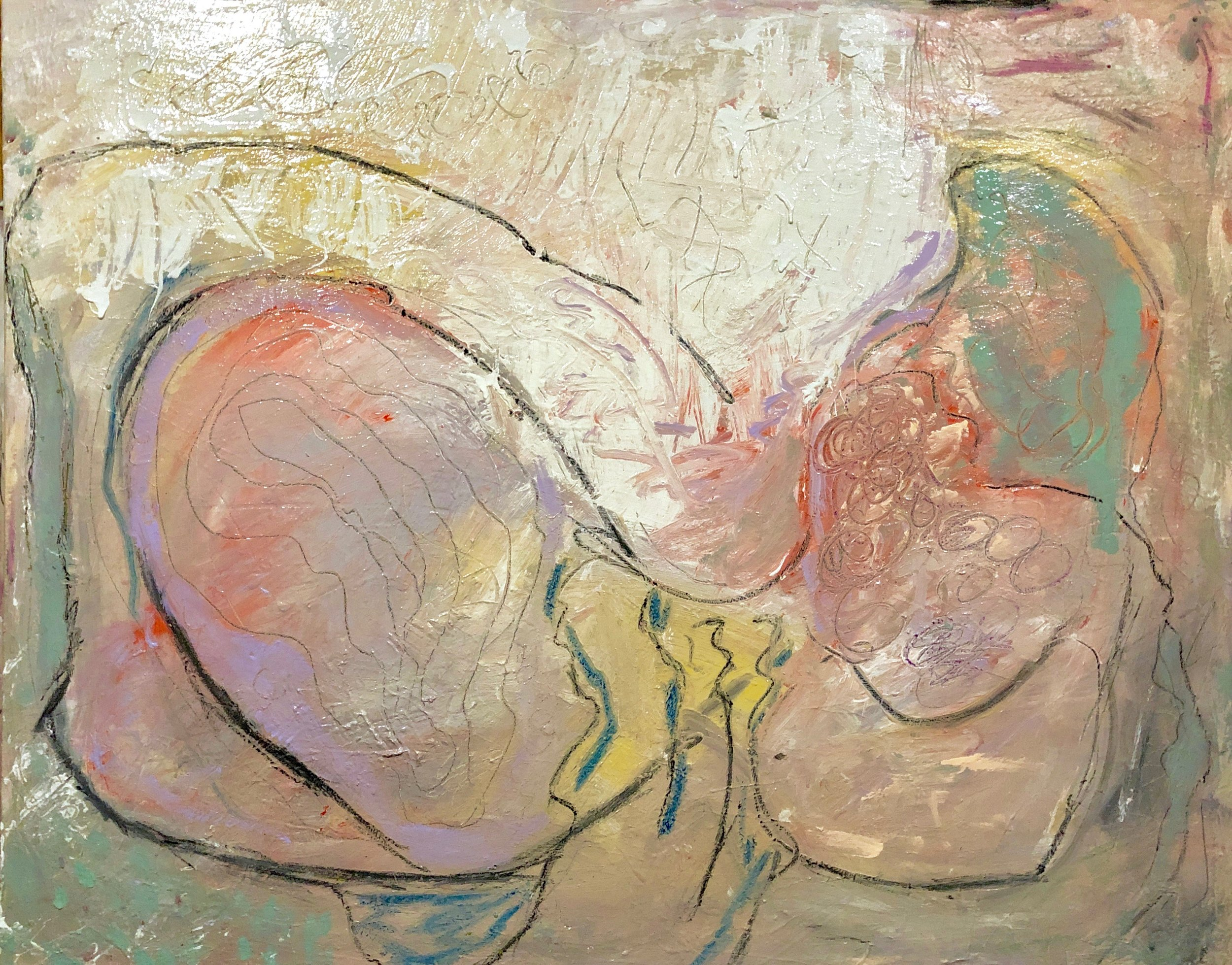 "Religion: Mary Magdalene  48"" x 60''"