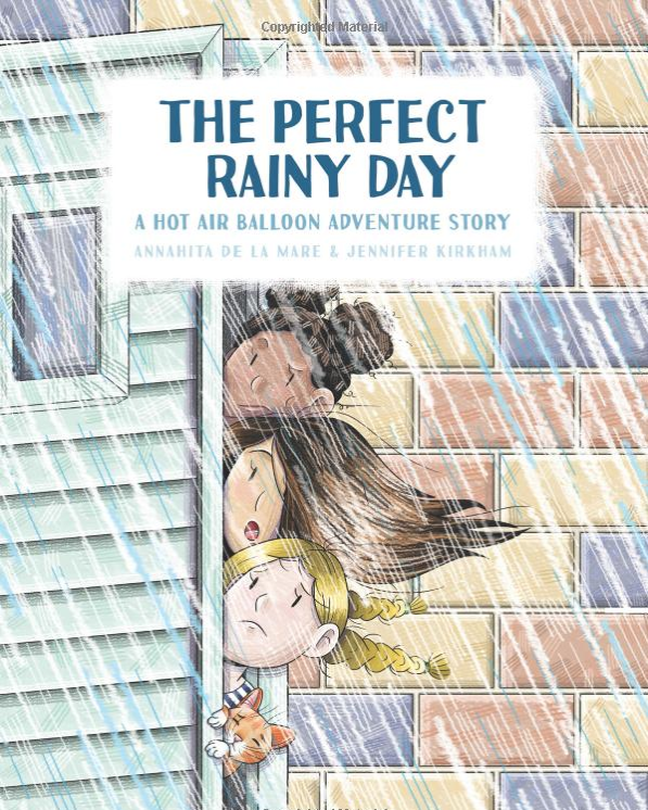 The Perfect Rainy Day    Annahita de la Mare
