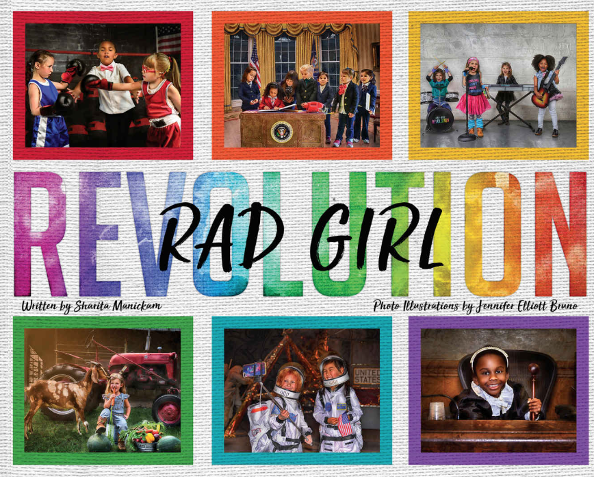 Rad girl book    Sharita Manickam