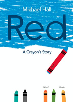 Red (a Crayon's story)    Michael Hall