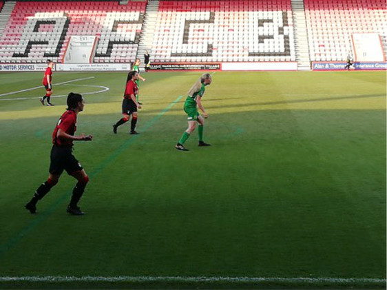 AFC Bournemouth Ladies played a heroic game against higher-league Yeovil Town