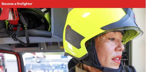 If you are recruiting more women like the  London Fire Brigade , show women.