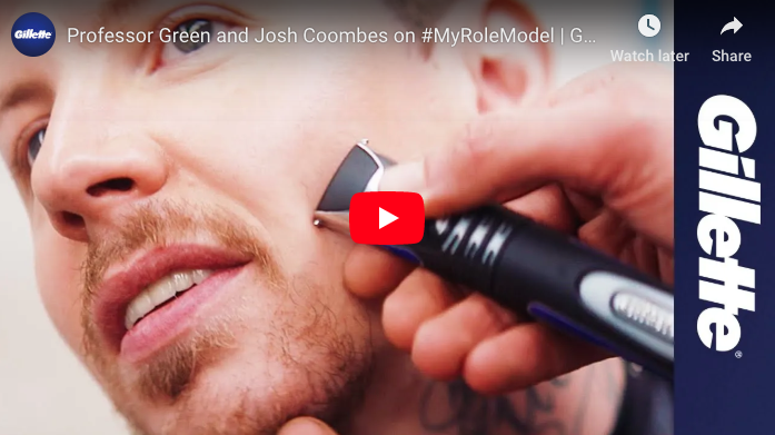 Watch:  Professor Green and Josh Coombes on My Role Model  | Gillette UK
