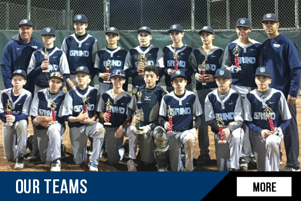 CT Grind Baseball Teams