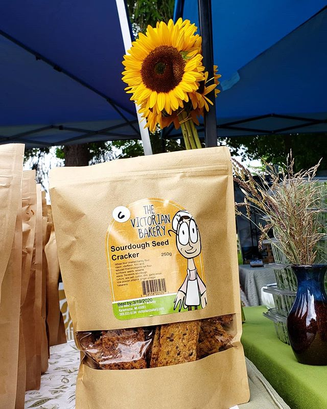 These Sourdough Seed Crackers have been quite the hit at markets lately!! Join us at market this Sunday from 12 - 3pm and stock up on a few of your local favorites. We will be off for a few Sundays, so stop by this weekend! . . We will have market this Sunday (the 4th Sunday) and during the Fall Festival next Saturday, the 28th. We will then have a few weeks off the Webster Market, since there are 5 Sundays in September. . . Here is the upcoming market schedule: 🍁 SUNDAY SEPT. 22 - ON 🍁 SATURDAY SEPT. 28 - ON 🍁 SUNDAY SEPT. 29 - OFF 🍁 SUNDAY OCT. 6 - OFF 🍁 SUNDAY OCT. 13 - ON