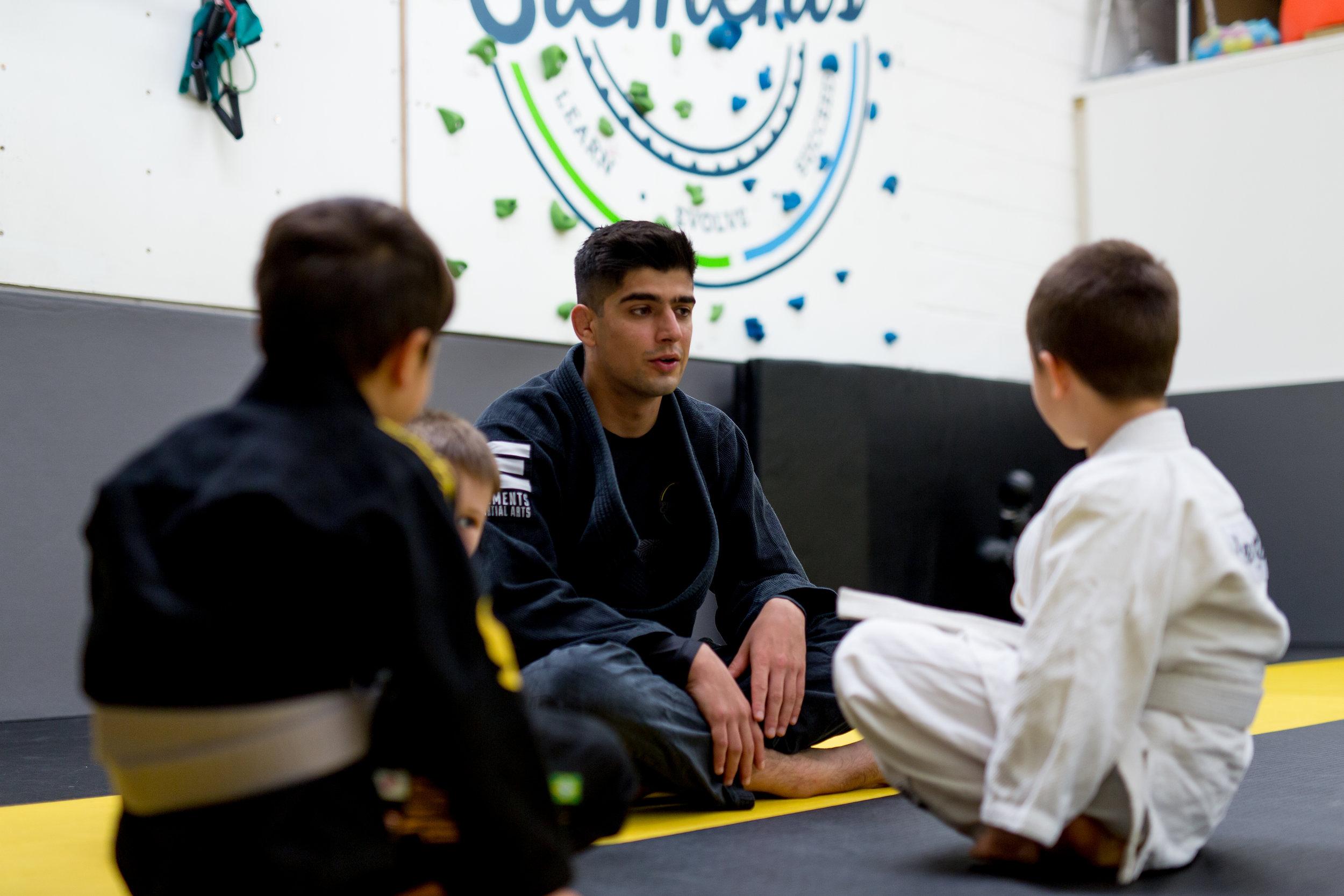 Elements martial arts kids lewes