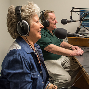 Mary Eddings and Buster Roper - Hosts of  Believers and Bluegrass.