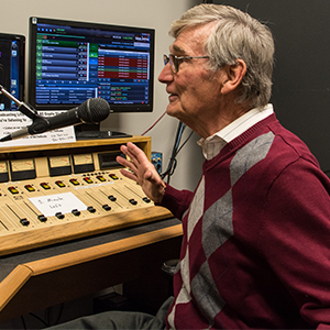 Pete Chaston – Host of  The Doo-wop Show  and resident meteorologist.