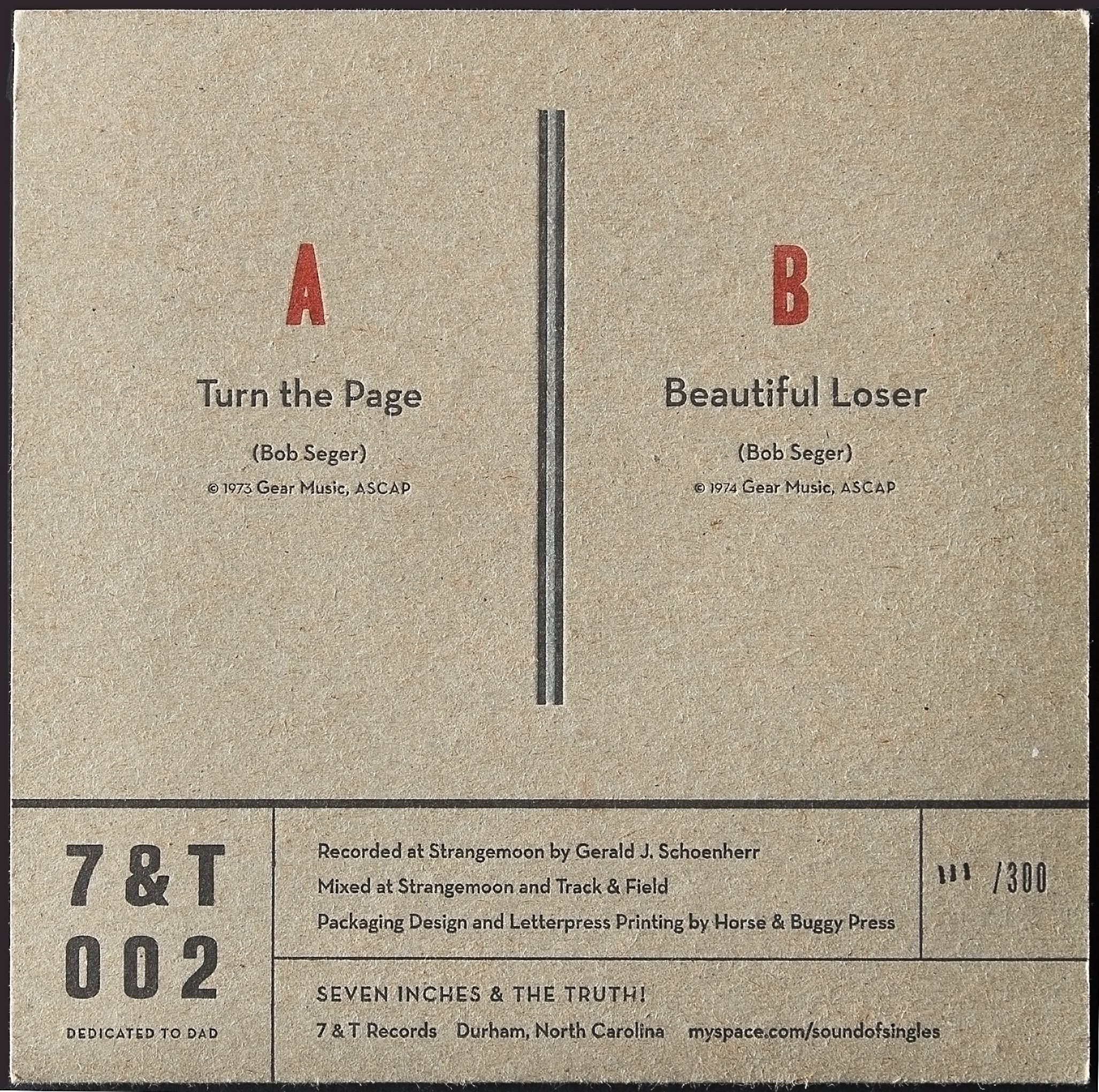 7 inch back cover.