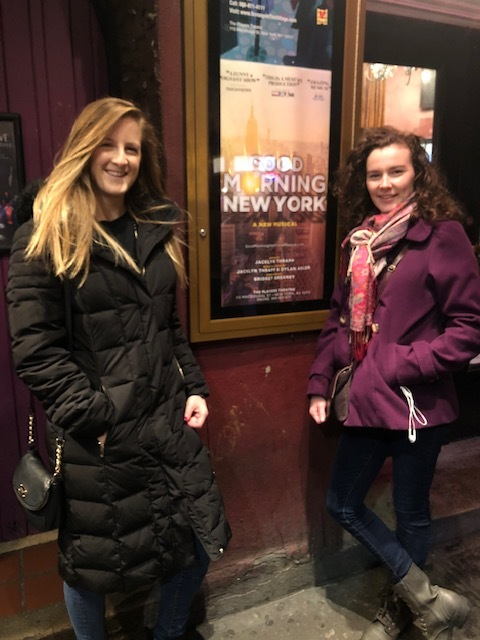 Our creator and director at the Players Theatre in December 2018.