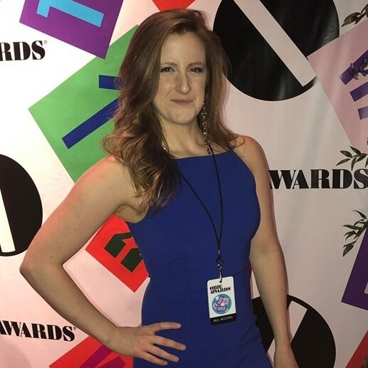 Jacklyn Thrapp at the Obie Awards in 2019.