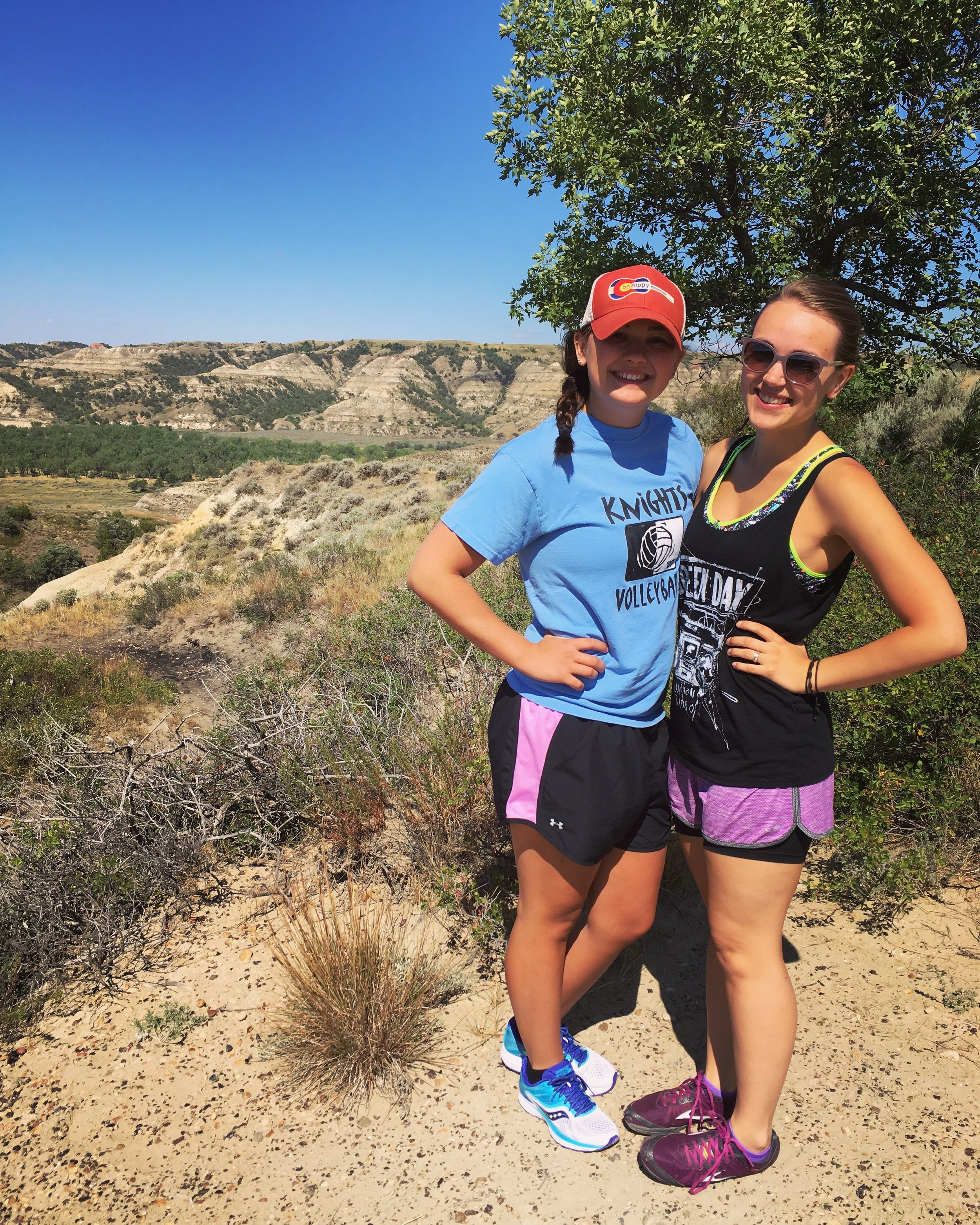 In early August,Kyli Jo talked me into flying to Denver to meet her while she visited extended family. We explored Colorado and then drove back to Fargo, making a pitstop in the North Dakota Badlands to meet up with my momma and her youth group girls to see the  Medora Musical  and do some hiking in  Theodore Roosevelt National Park  (pictured above).