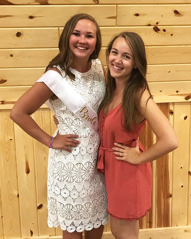 Had so much fun celebrating this lovely lady today at her bridal shower!! LOVE YOU SO MUCH, @kyli_jo21 🎉💍💕