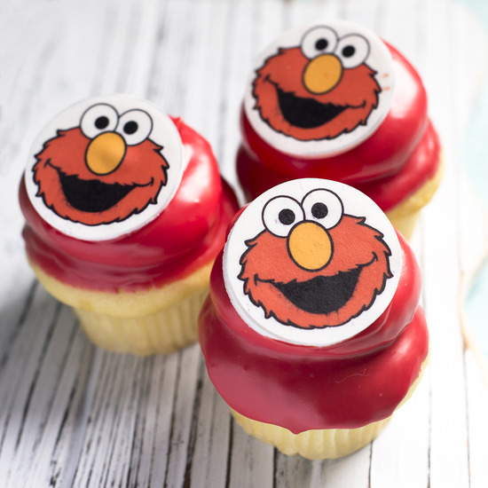 Edible Photo - Cupcakes topped with edible photos, $4.00 each, minimum of one dozen per photo