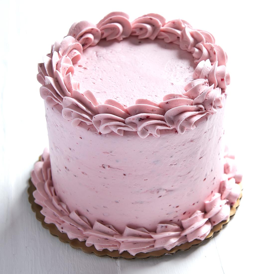 Lemon Raspberry - Lemon cake, raspberry buttercream filling and frosting6