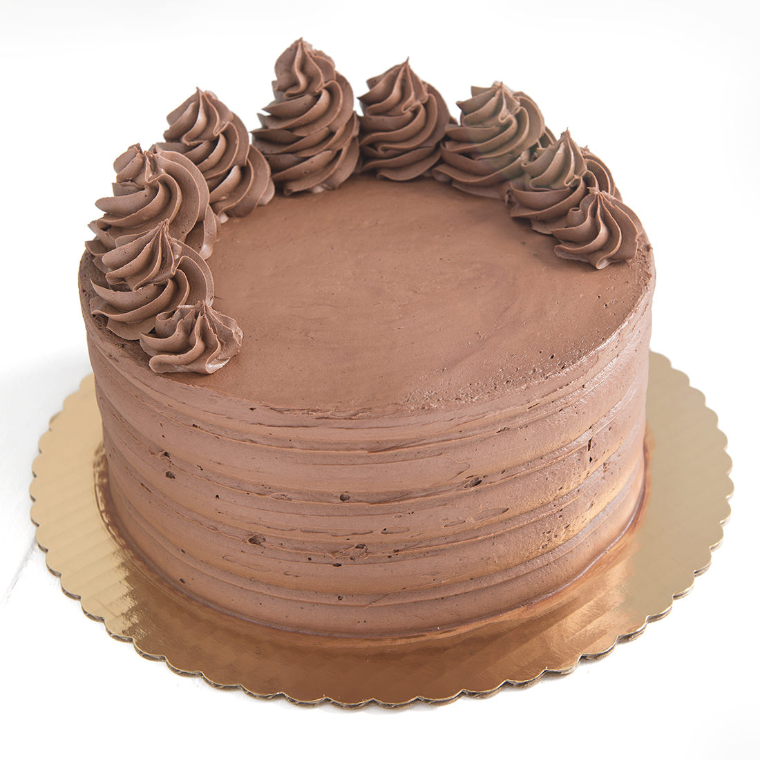 Double Trouble - Chocolate cake filled and frosted with chocolate buttercream6