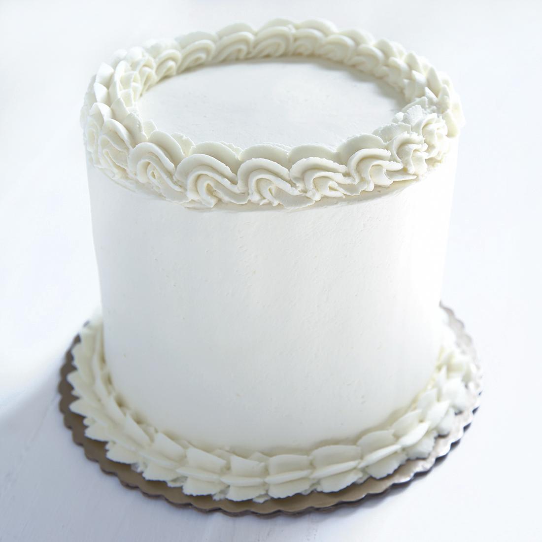 Boston Cream - Vanilla cake layered with chocolate ganache and vanilla pudding, vanilla buttercream frosting6