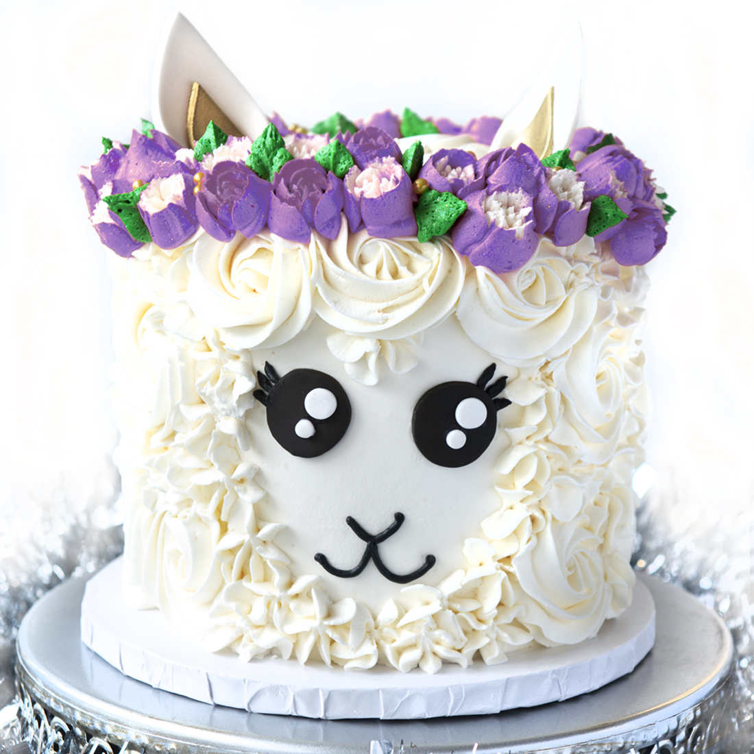 "No Drama Llama - Can't. Even. Deal. This might be our favorite cake ever.6"" (serves 8-10) $75.00"