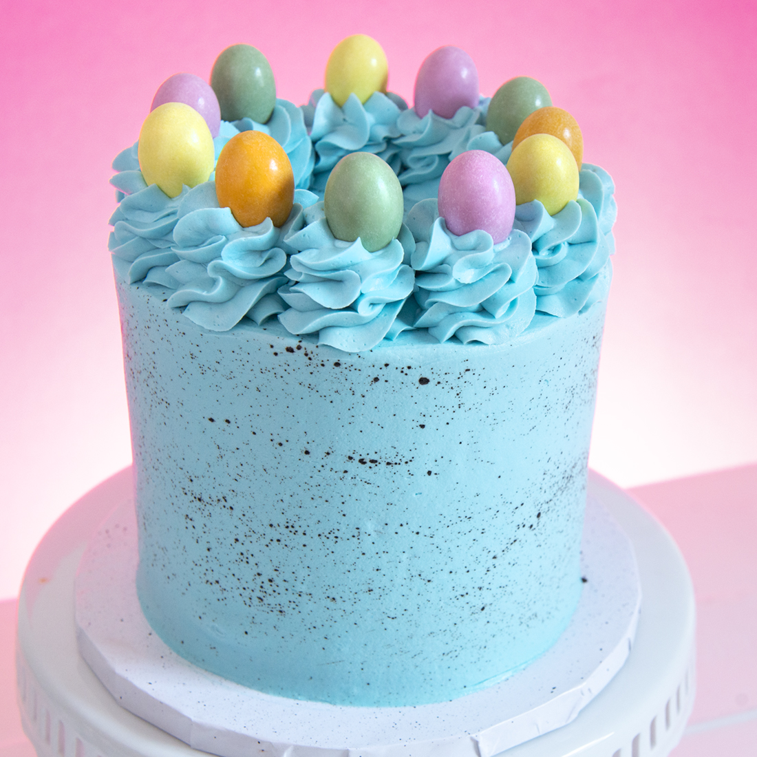 Speckled Egg Cake -