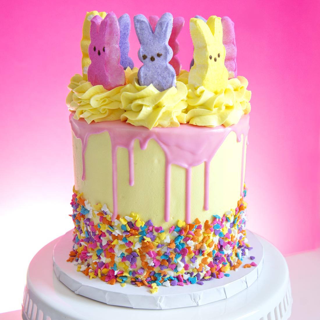 Marshmallow Peep Cake -