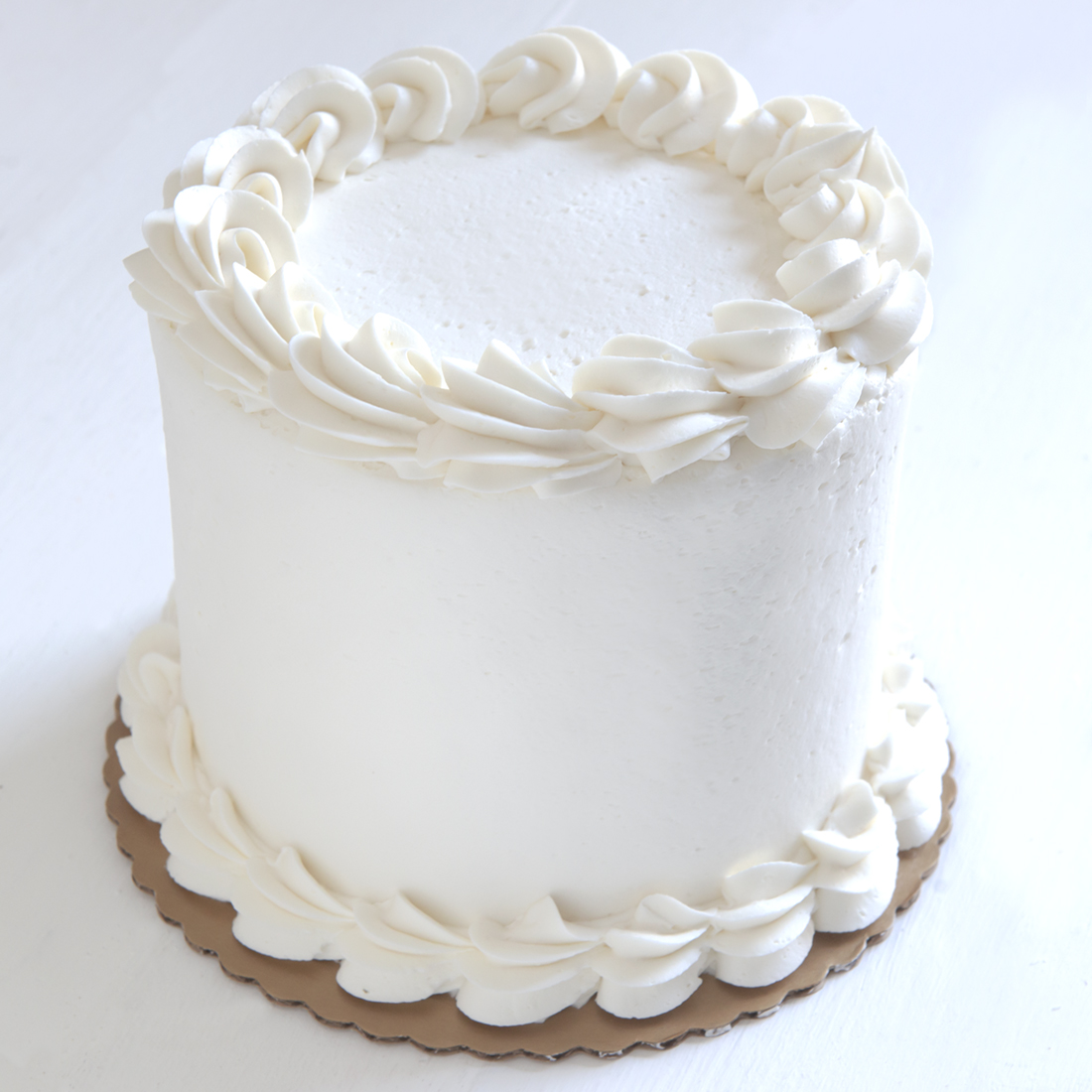Lemon Meringue - Vanilla cake filled with lemon filling, frosted with vanilla buttercream6