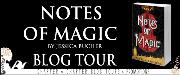 Link to Tour Schedule:       http://www.chapter-by-chapter.com/tour-schedule-notes-of-magic-by-jessica-bucher/
