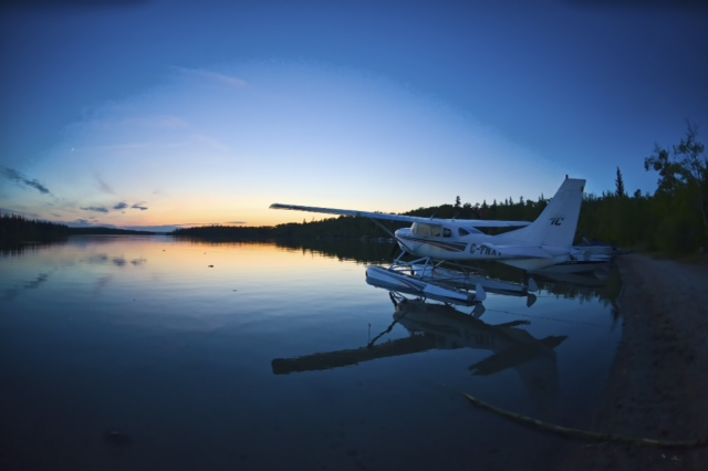 Fly In Option - Customers make their own arrangements for arriving in Edmonton or Saskatoon airports. Our staff will meet you at the airport, and drive you to Lloydminster. From Lloydminster we will fly you by float plane right into the camp.Dates for our hunting packages run from early May to the end of June.