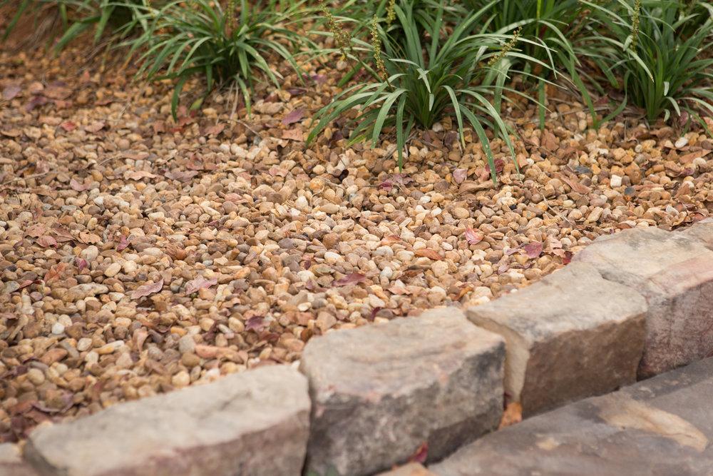 Brown Pea Gravel Cornerstone Landscape Supply