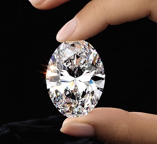 "This 88-Carat Oval Brilliant Diamond sold for $13.8 million in Hong Kong is now named the ""Manami Star"" is a perfect D-Color Flawless type IIa Oval Brilliant...."