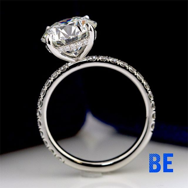 Brilliance is in the emotion of fabricating the perfect Diamond Solitaire! #lovehermadly #breathtaking #dreamscometrue✨ #ringsofinstagram #custommadejewelry #bespokejewellery #shesaidyes #luxuryring #design #marrymerings #instaring #ringsofinstagram #gemology #giacertified #privatejeweler #sparkle #cupid #glamour #happiness #engaged #romance #loveher #truelove #style #artofliving