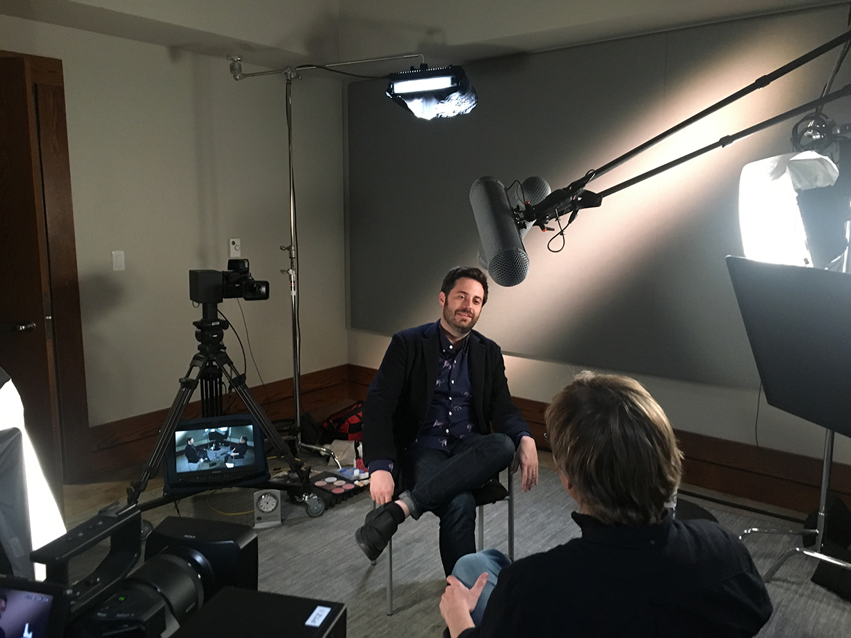 Talking with Garrard Conley, Pryor Center Interview