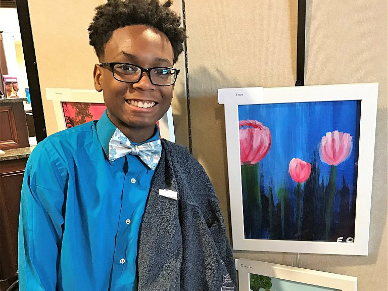 4th annual Art show for Beacon Therapeutic in Chicago    APRIL 6, 2017