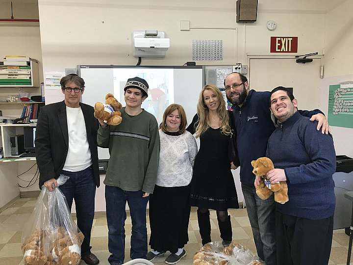 Celebrating Chanukah   with HASC   (Hebrew Academy For Special Children)    DECEMBER 13, 2017