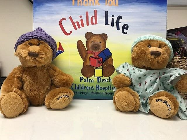 Bi-annual Teddy Bear Clinic at the Palm Beach Children's Hospital at St. Mary's Medical Center    MARCH 24, 2017