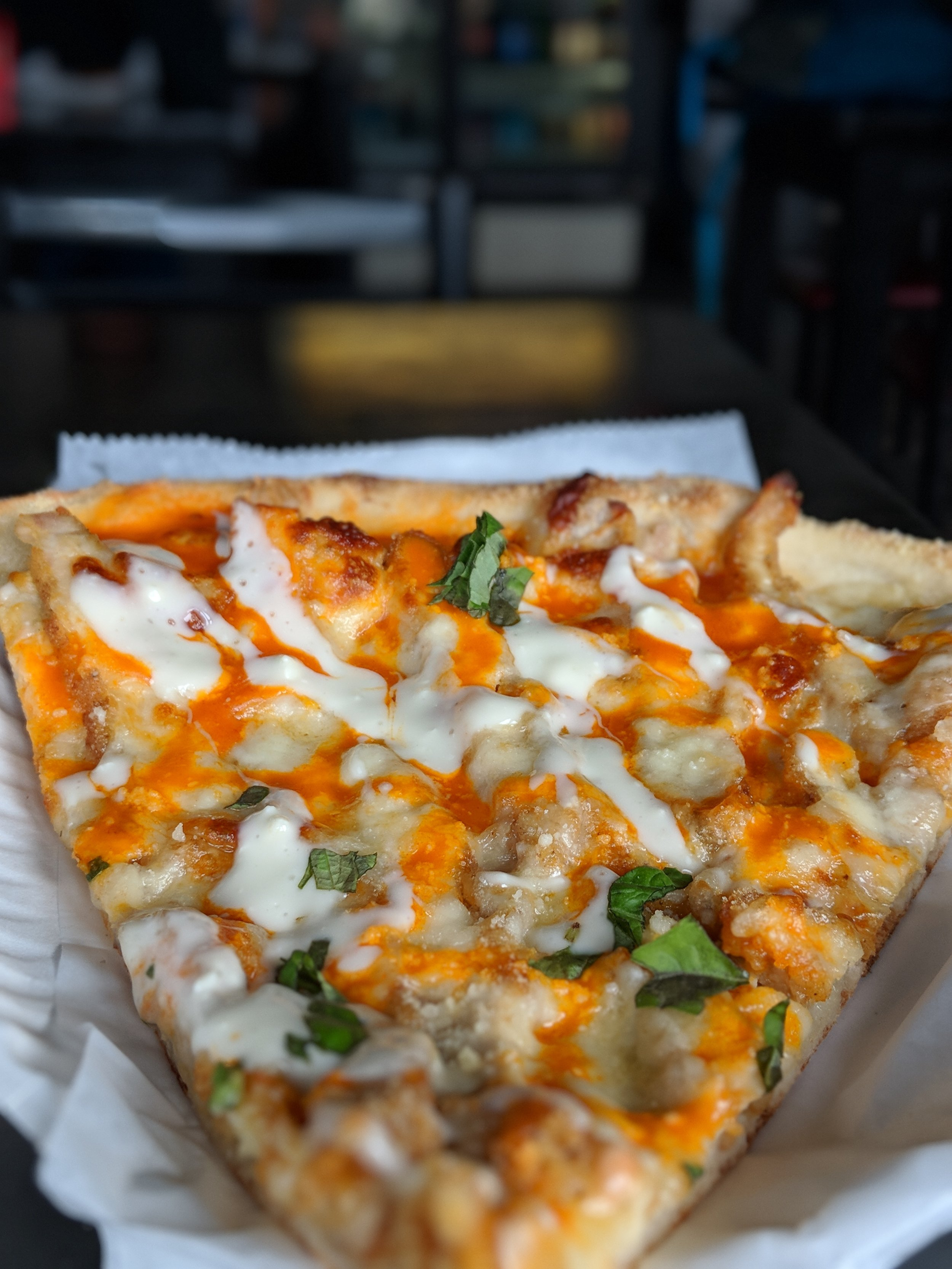 Buffalo Chicken Slice - Straight Fire.