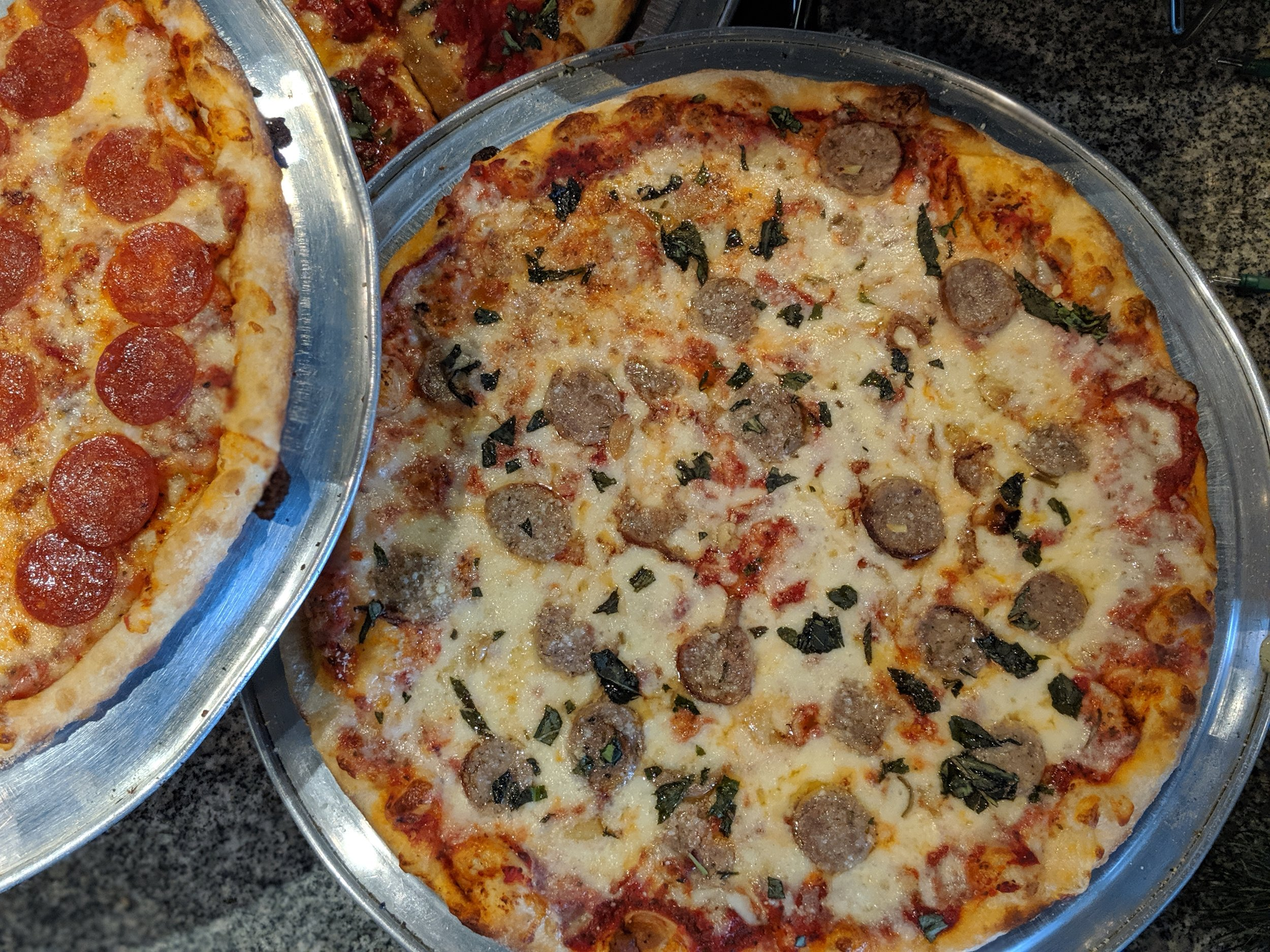 Pizza Mia - Italian Sasuage and Roasted Garlic.jpg