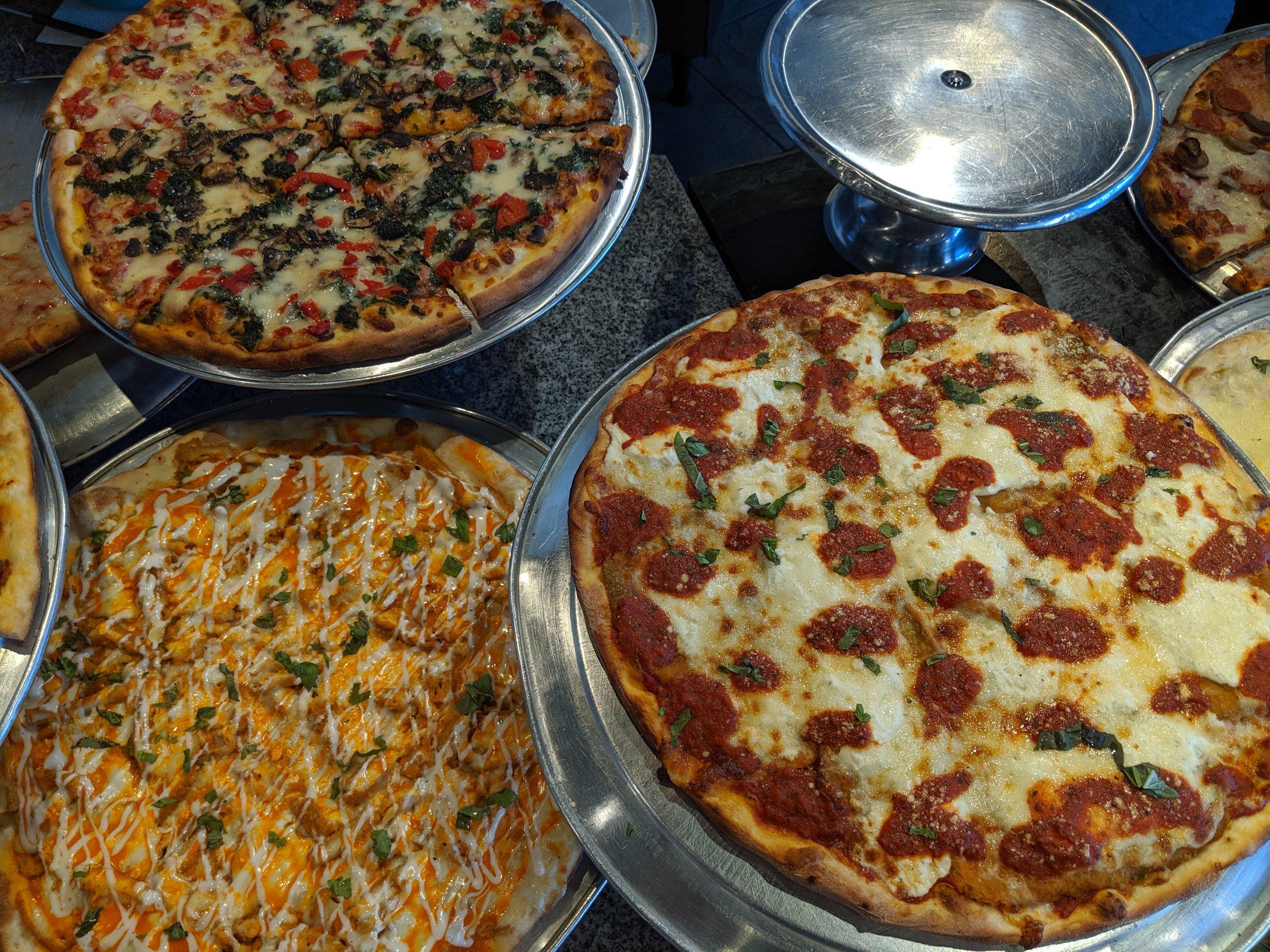 Pizza Mia - Buffalo Chicken & Eggplant Parm & Veggie.jpg