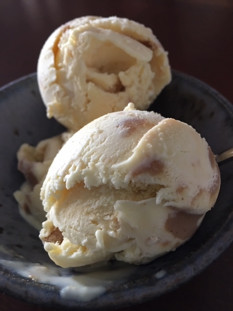 Vanilla Peanut Butter Ice Cream